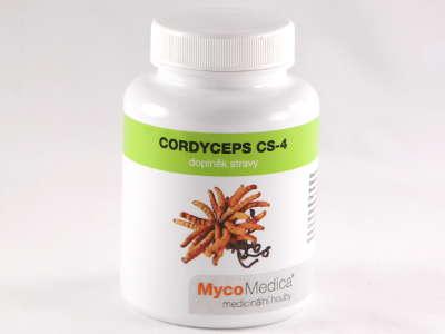 Cordyceps CS-4 MycoMedica, 90 kapslí